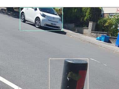 Object recognition on Raspberry Pi Robot