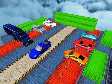 Real Impossible Tracks Stunts: 3D Car Racing Game