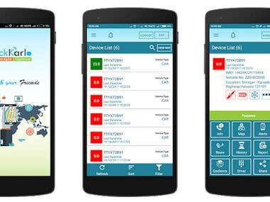 TrackKarlo Android App