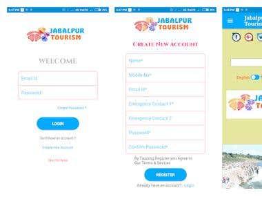 Jabalpur Tourism Android App