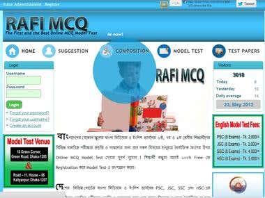 Educational web Application