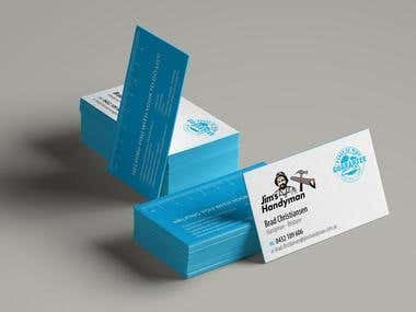 Business card design for Australia based company