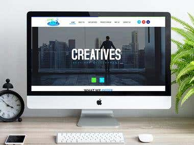 Business Services Website Design