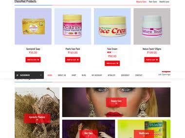 Woocommerce Catalog Website