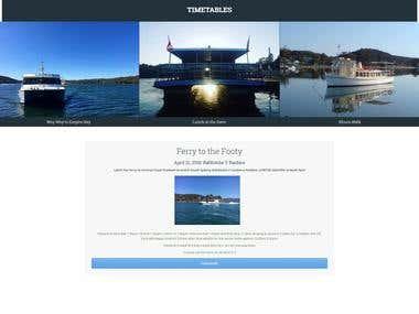 Creación de sitio web con Wordpress