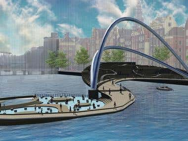 amsterdam art bridge(competition project)