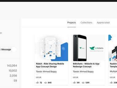 Our Awesome Graphic/UI/UX Portfolio