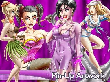 Pin-Up Artwork
