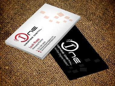 Business Card and Logo design.