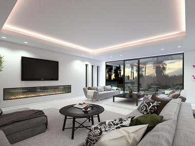 interior of house project