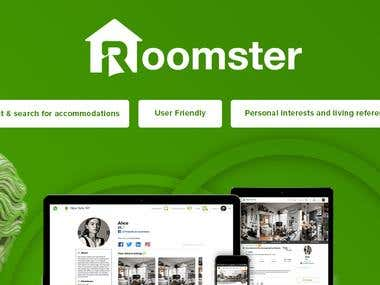 ROOMSTER - The biggest rent SAAS in USA