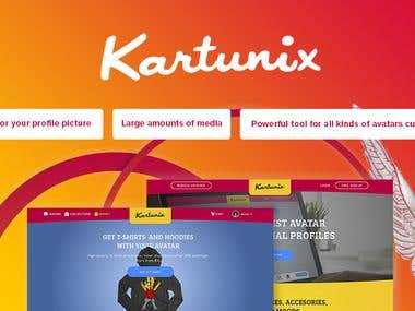 KARTUNIX - Internet just became more interesting with Kartun