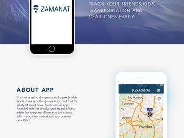 Safety App - Mobile app & Website