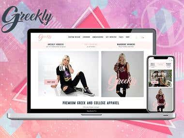 WordPress E-commerce Fashion Website