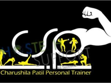 Logo design Charushila Patil Gym Website