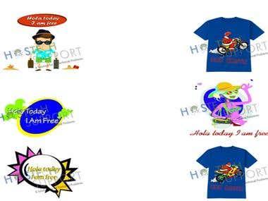 Tshirt Logo designs