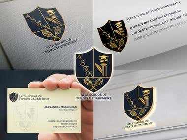 All India School of Tennis Management - Logo Creation