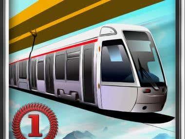 Sky Train Designing + Development