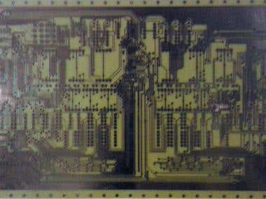 Double Sided Through-hole Plated PCB (side: up)