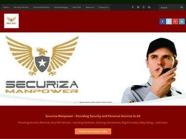 website Securiza Manpower