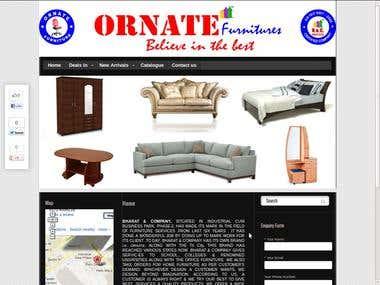 Ornate Furniture website