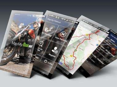 Mortocycle racing app