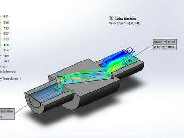 Flow Simulation Using Solidworks