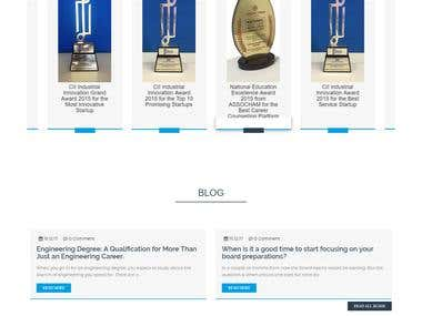 Word Press Website.