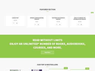 e_Learning Website