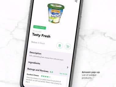 Cooking, Recipes, Food Shopping App