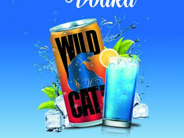 Poster Design for Vodka Brand