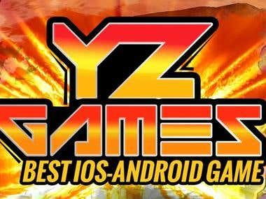 Facebook/Youtube Banner for YZ Games