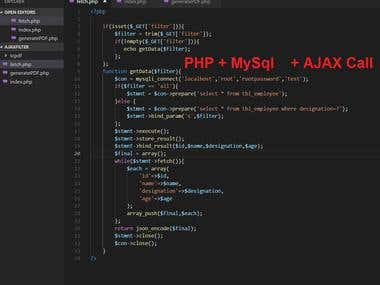 Fetch Data From MYSQL using PHP RestApi