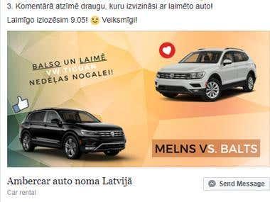 Facebook contest & Branding