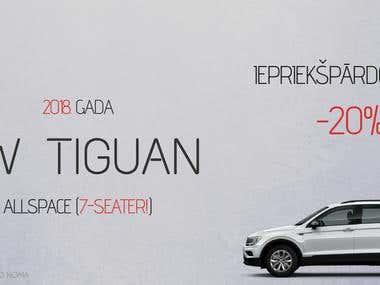 VW Tiguan - Sale/Facebook