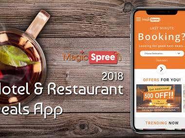 Magicspree.com - A Restaurant, Hotels & Travel Booking