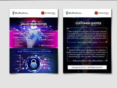 IT Security flyer design