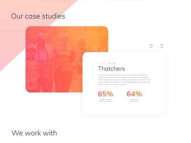 Health care digital agency website