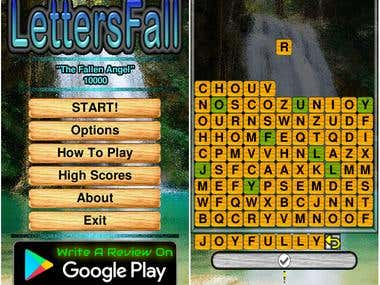 LettersFall Game