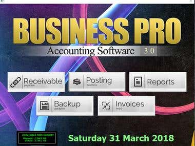 Businesspro Accounting Software for All kinds of business
