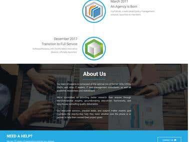 Sample MDB Landing Page