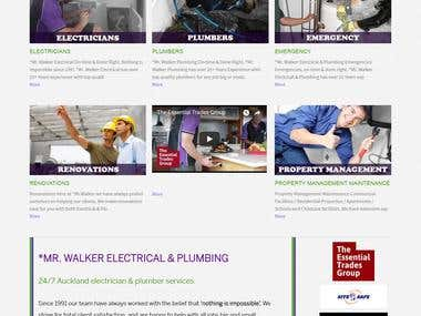 www.mrwalker.co.nz - MR.WALKER Electircal & Plumbing Company
