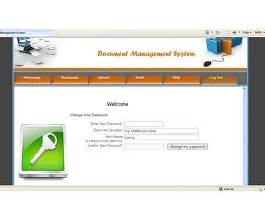 Documents management system