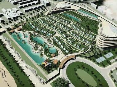 Design for Resort Thailand