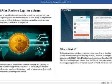 BitMex Review: Legit or a Scam