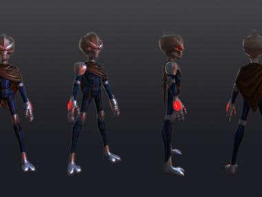 Character Modeling/Texturing