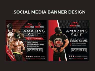 Sport / Fitness Banner Design