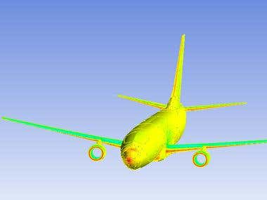 CFD Analysis of Boeing 737-800