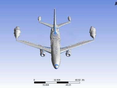 CFD Analysis of Boeing 737-800: Induced Drag Vortices