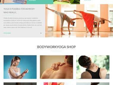 Website Mockup Creation